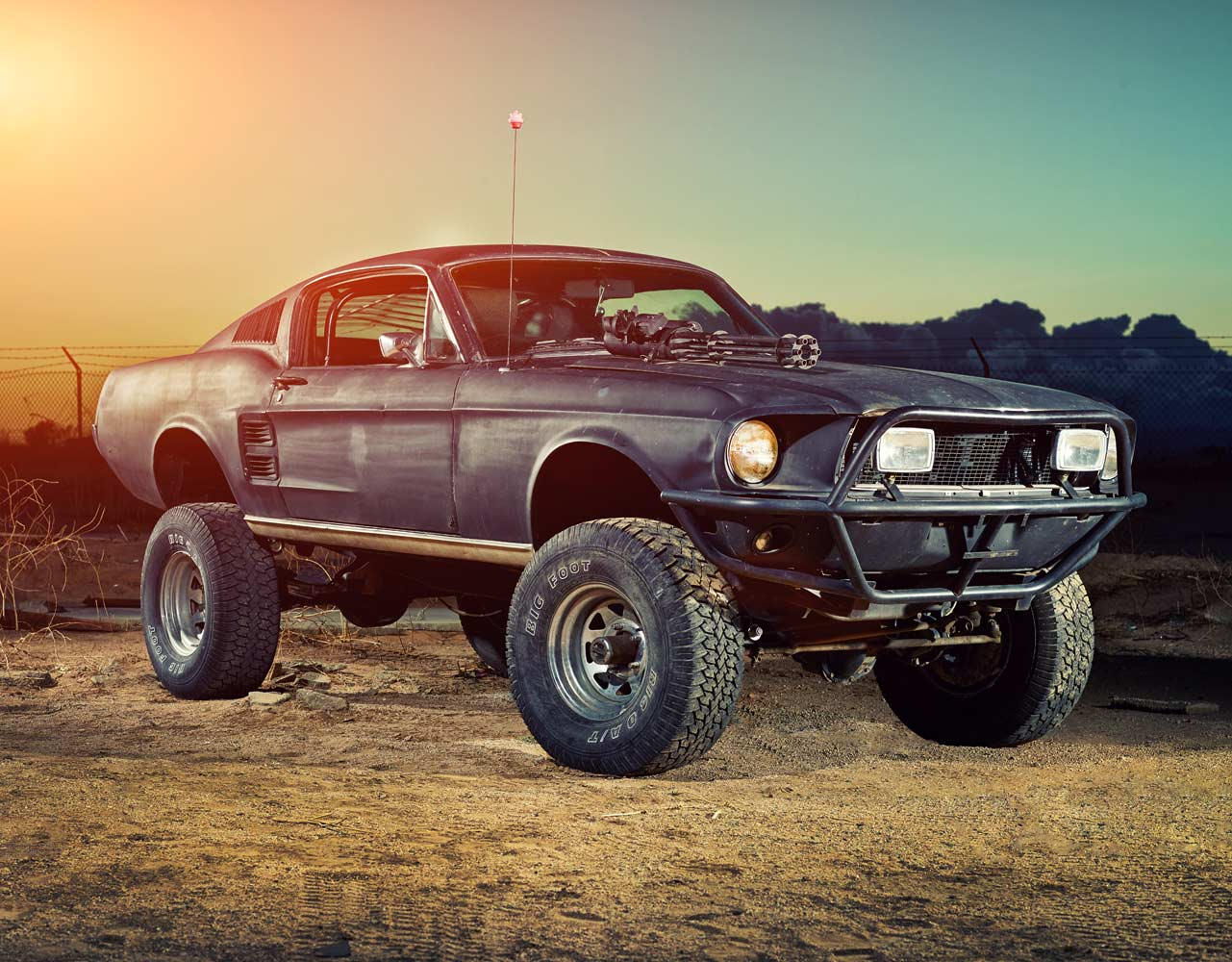1967 Ford Mustang Fastback for the Apocalypse
