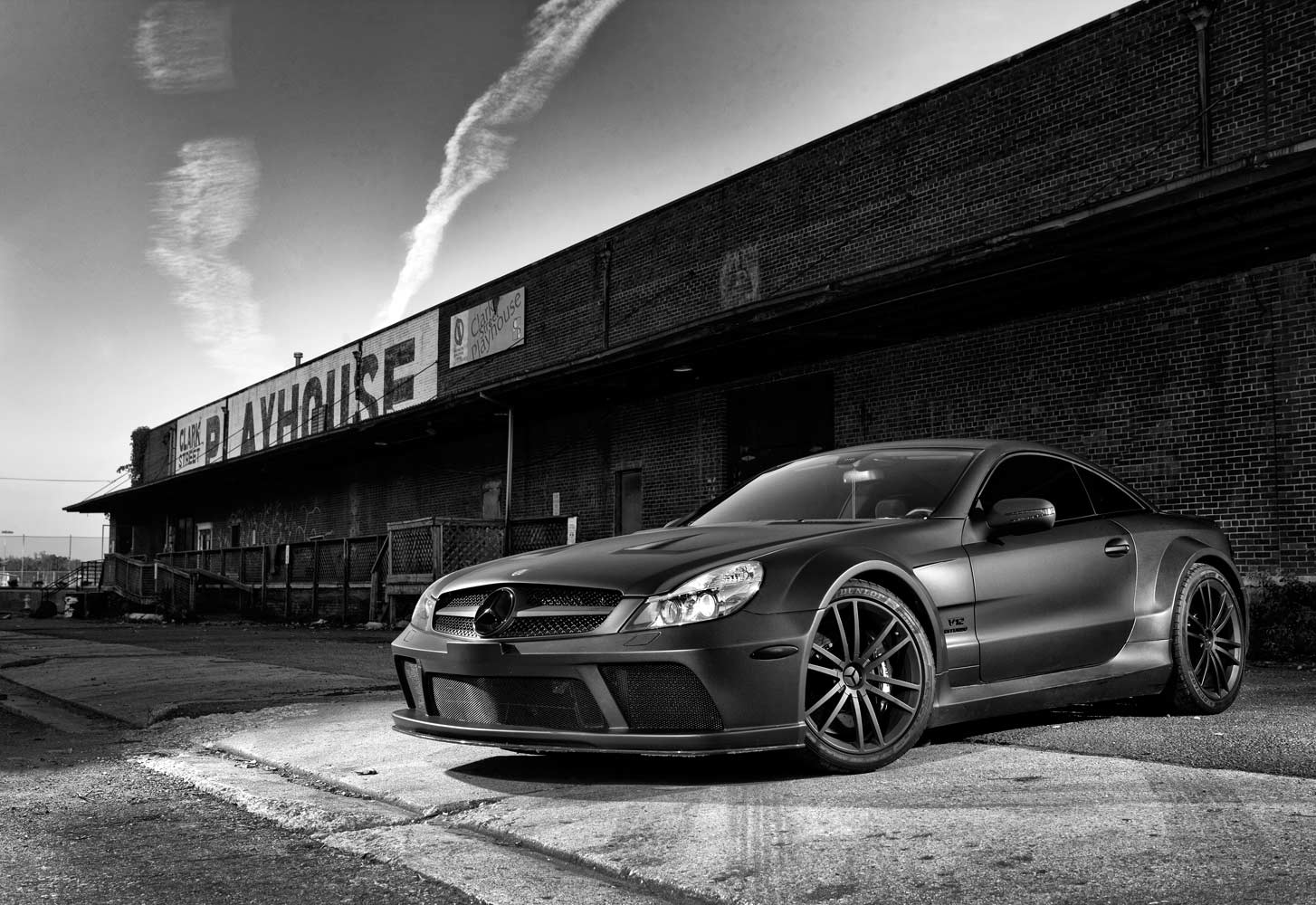 Mercedes Benz SL AMG Black