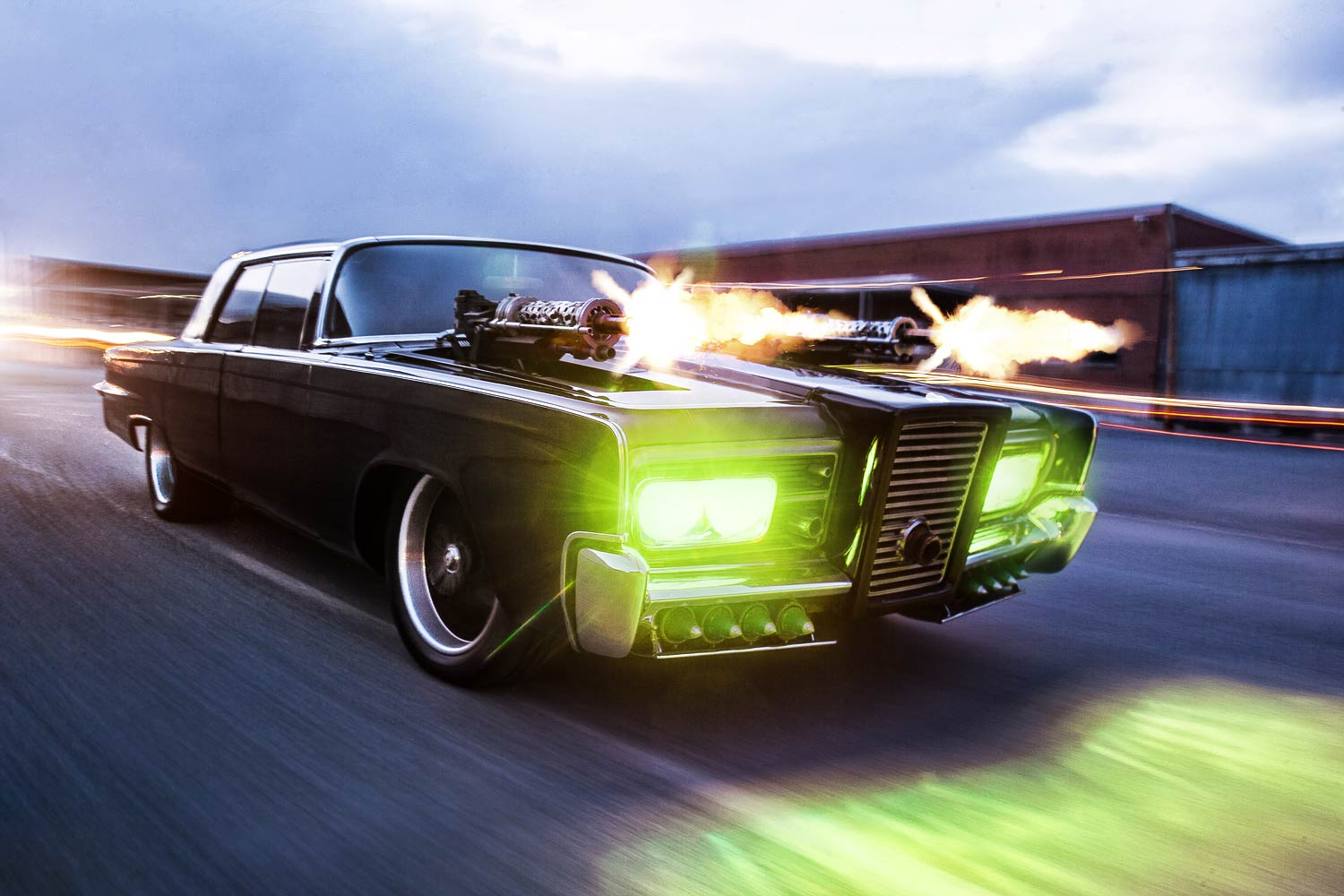 Green Hornet Black Beauty Movie Car